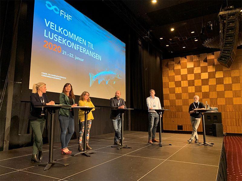Lusekonferansen 2020 med over 400 deltakere bidro til resultatformidling og dialog om hvordan lakselus kan forebygges og kontrolleres.